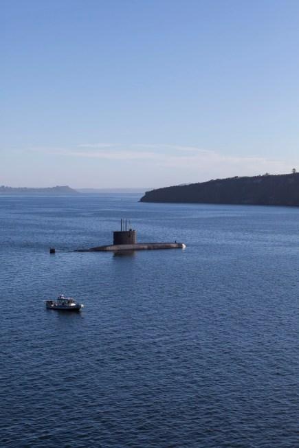 Chilean Navy Submarine