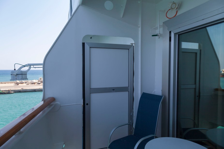 Royal Princess Balcony E102