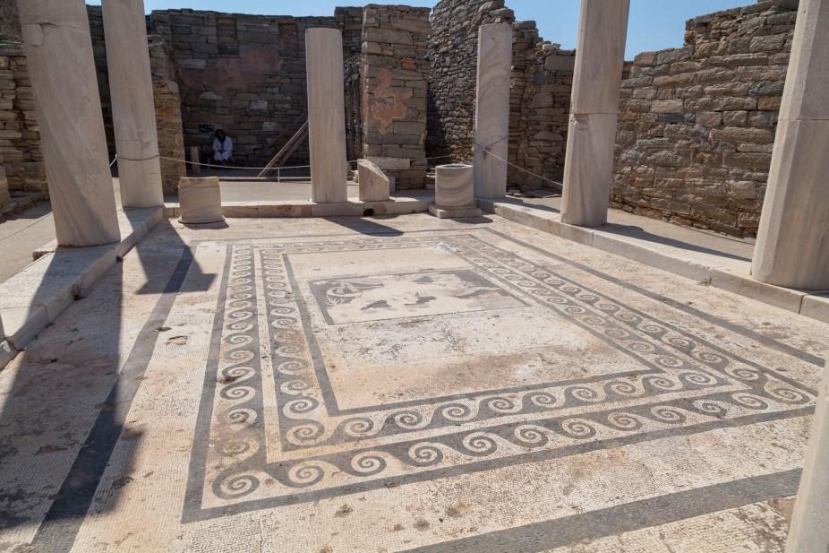 Mosaic, House of Dionysos