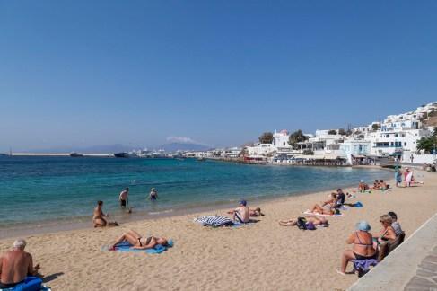Mykonos Town Beach