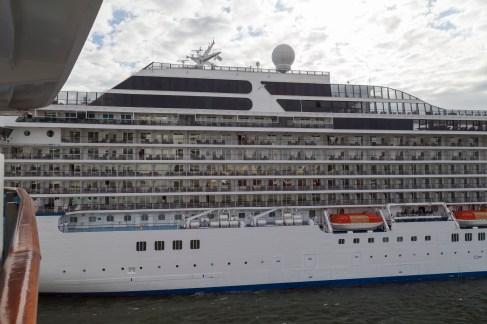 Oceania Marina, Zeebrugge