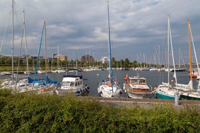 Marina And Cruise Ship