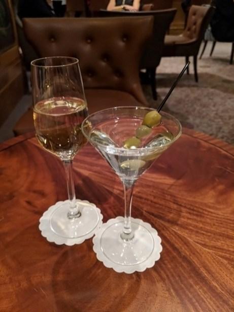 Champagne, Vodka Martini