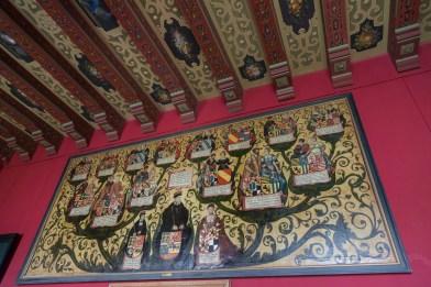 Inside Frederiksborg Castle