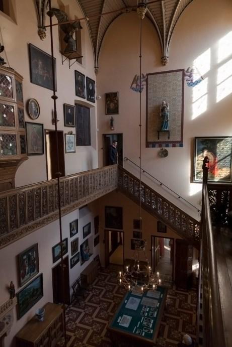 Loppem Castle Entrance Hall