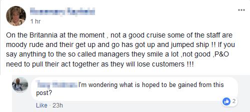 Cruise Forum Bully
