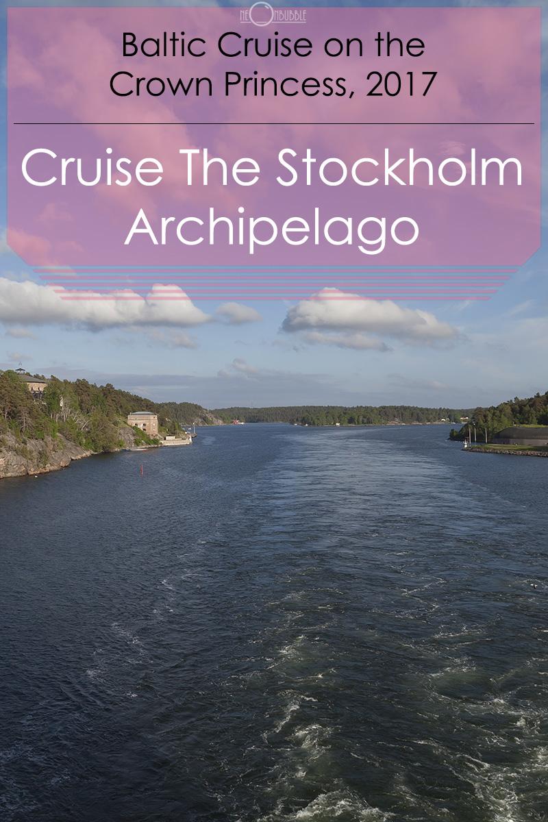Cruising Stockholm Archipelago