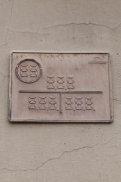 Water Company Plaque