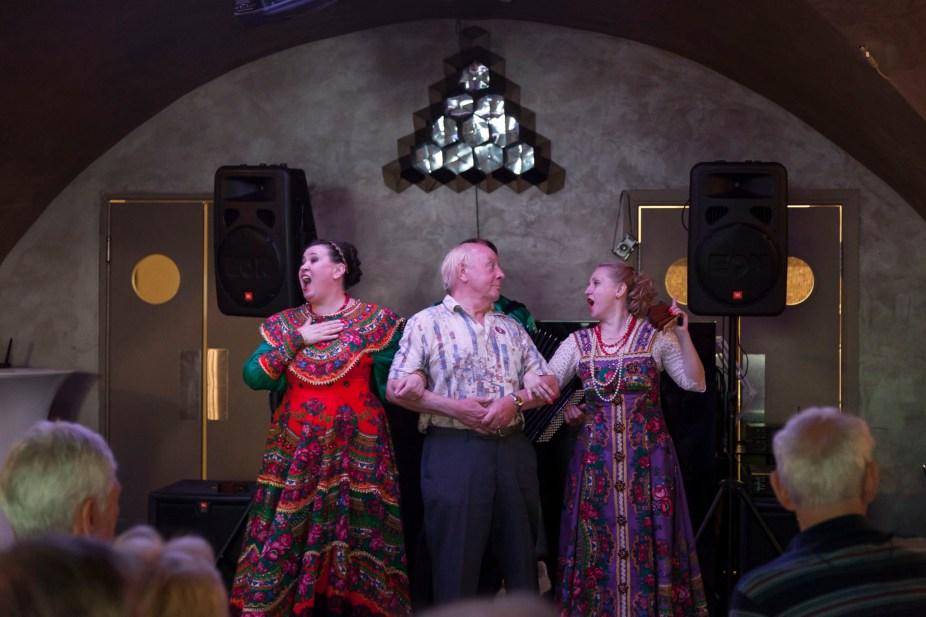 Restaurant Academia Folklore Show