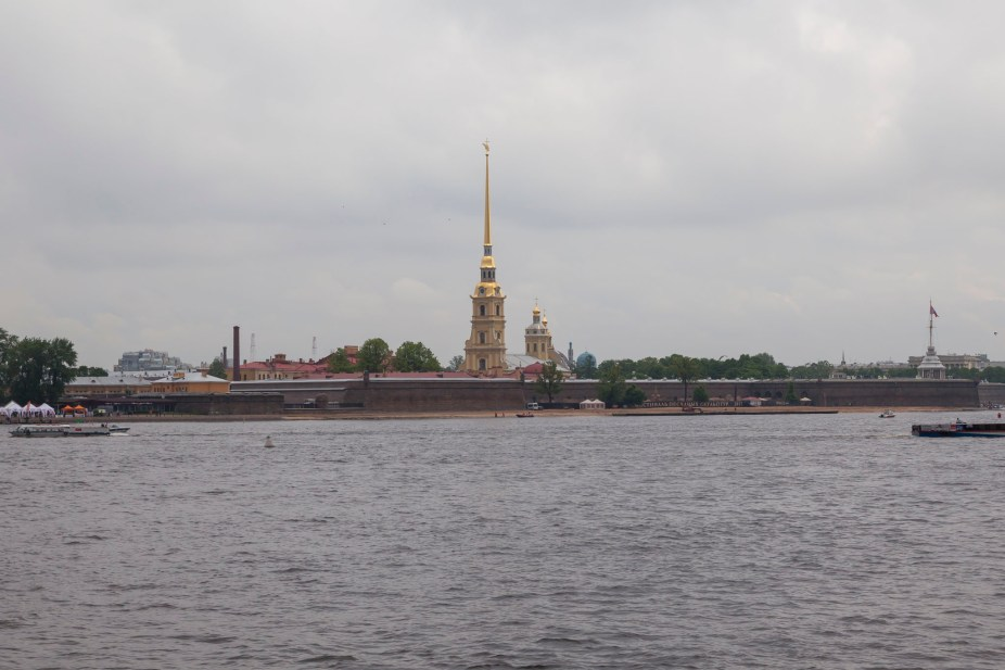 Vasilyevsky Island View, Saint Petersburg