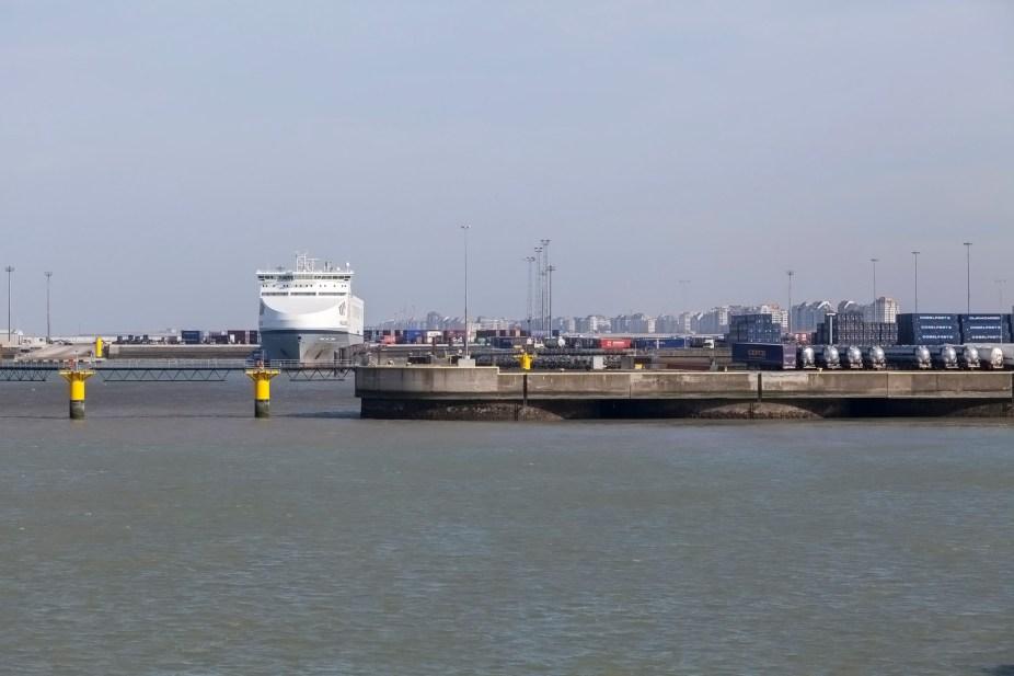 Zeebrugge From Oriana