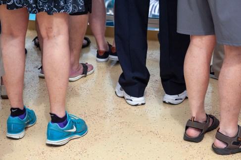 Gathered Footwear