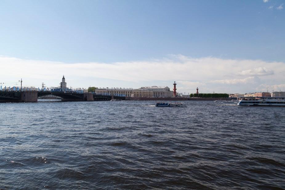 River Neva Outside Hermitage