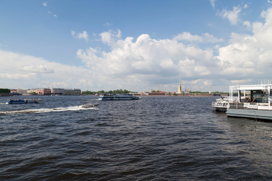 River Neva Outside Hermitage