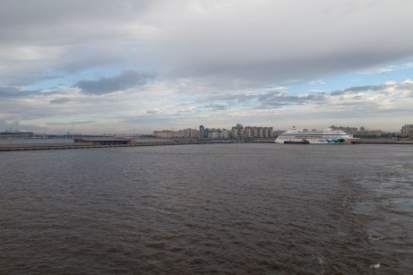 Saint Petersburg Cruise Port View