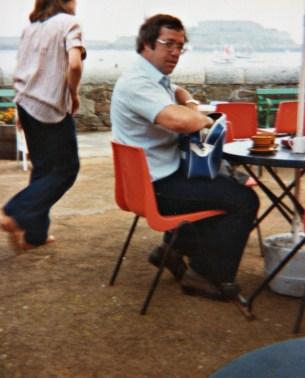 Dad, Guernsey, 1980s