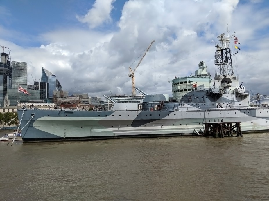 HMS Belfast, Thames, London