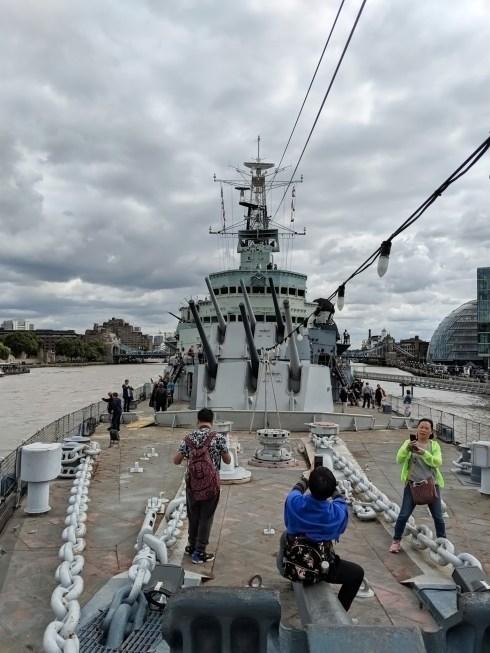 HMS Belfast Deck