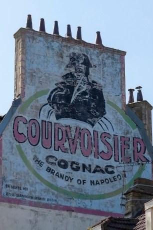 Courvoisier Cognac Ghost Sign