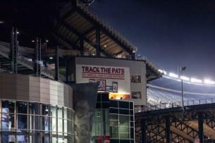 Outside Gillette Stadium