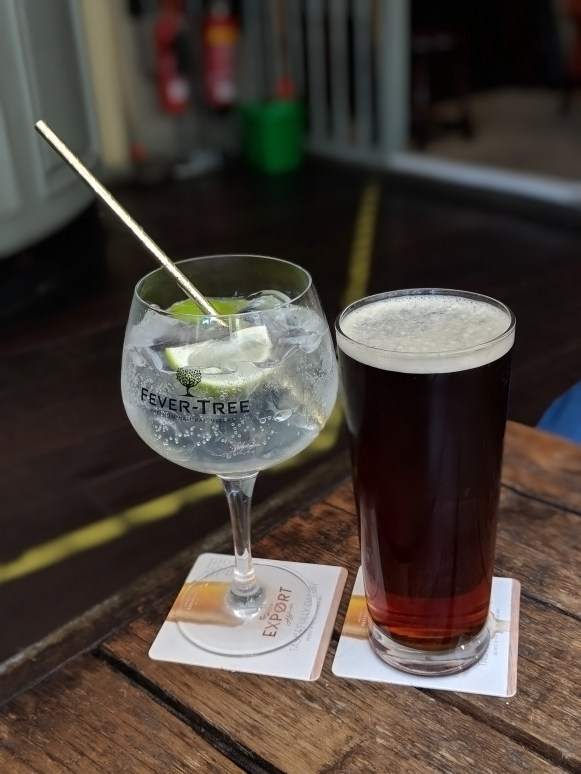 Local Gin And Ale