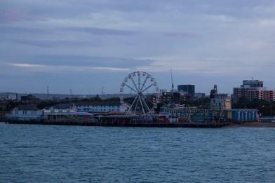 Southsea Funfair, Dawn