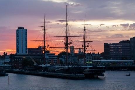 HMS Warrior, Dawn