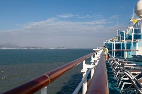 Approaching Xiamen