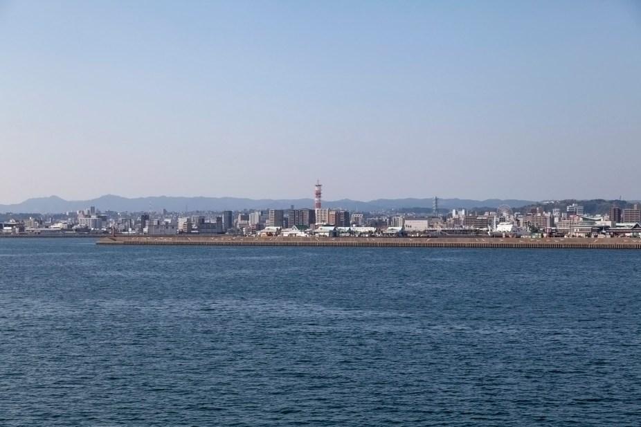 Kagoshima From Ferry