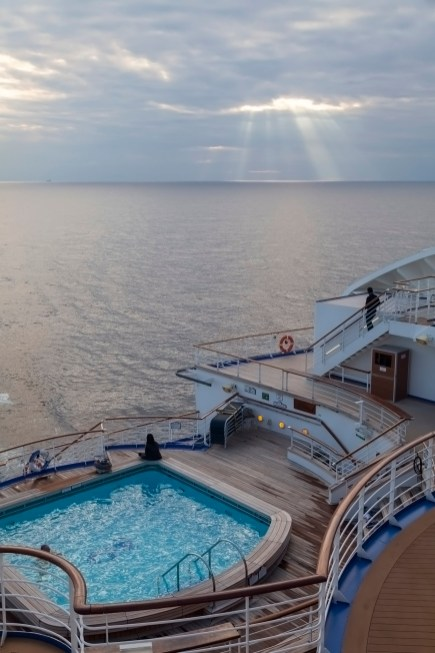 Diamond Princess Aft