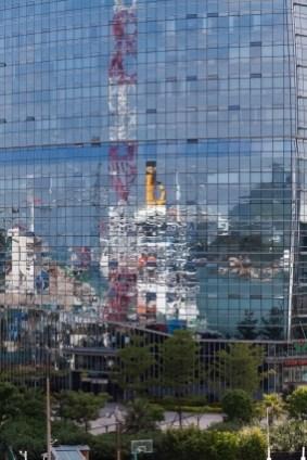 Cruise Ship Reflection