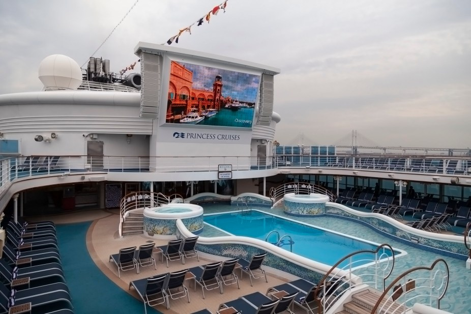 Diamond Princess Pool