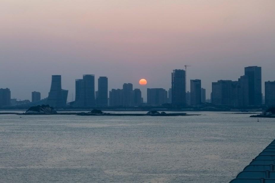 Sunset, Xiamen, China