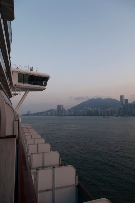 Hong Kong From Diamond Princess