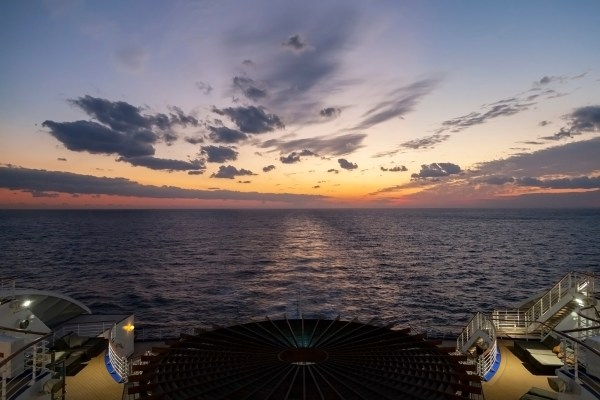 Diamond Princess Sunset