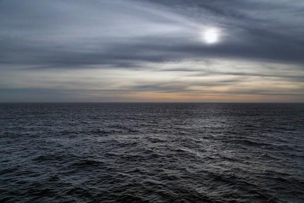 Atlantic Ocean, Moody Sunset