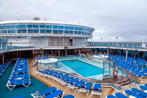 Crown Princess Swimming Pool