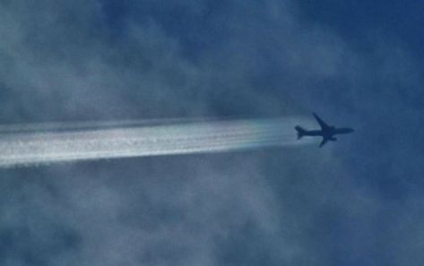 Are harsh, deadly chemicals being sprayed into the atmosphere?