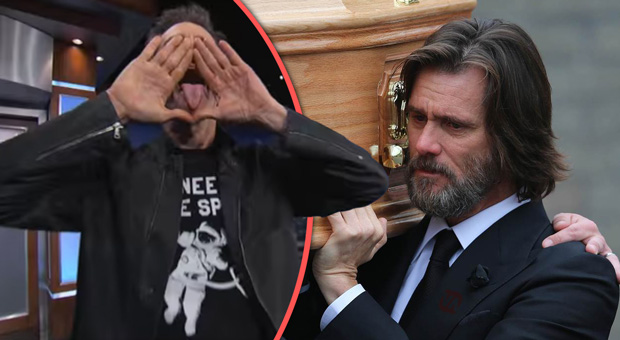 jim carrey exposed the illuminati on national tv in his trademark style