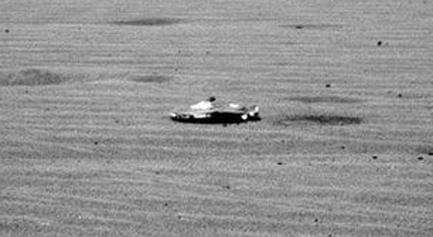 NASA Discovers Artificial Object on the Surface of Mars