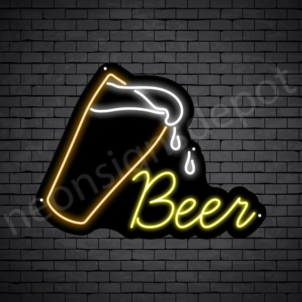 Beer-Neon-Sign-Beer-drop - 24x18