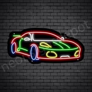 Car Neon Sign Ferrari 24x11