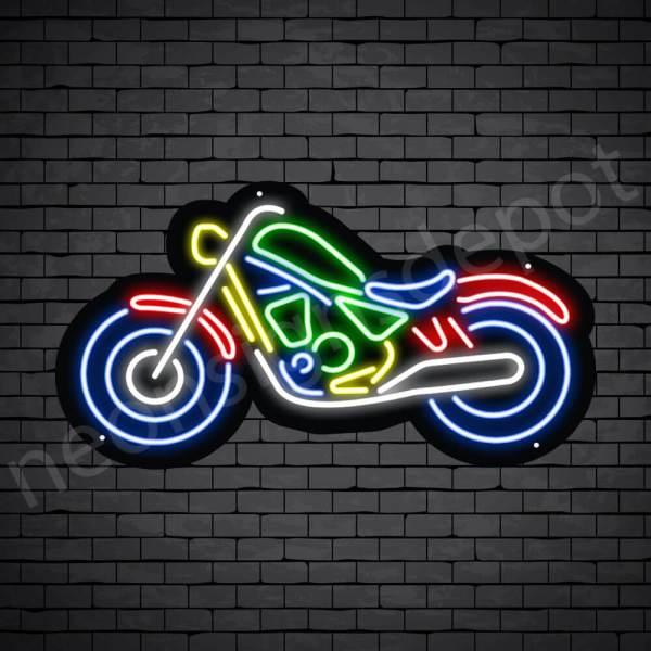 Motorcycle Neon Sign Big Bike Style 24x13