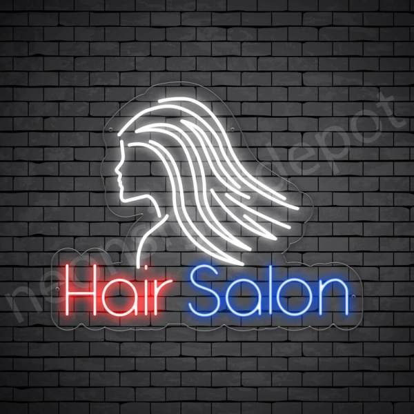 Hair Salon Neon Sign Hair Salon Parlor 24x19