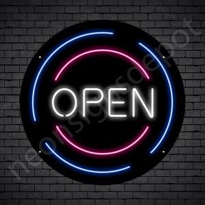 Open Rounded V1 Black 20x20