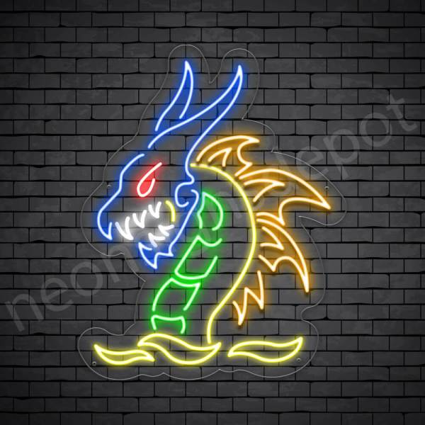 Zilong Dragon Neon Sign