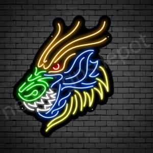 Tiger Style Dragon Neon Sign