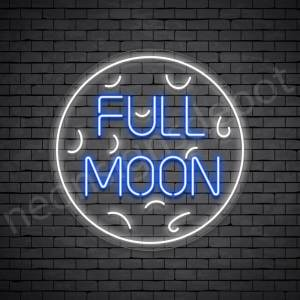 Moon Neon Sign