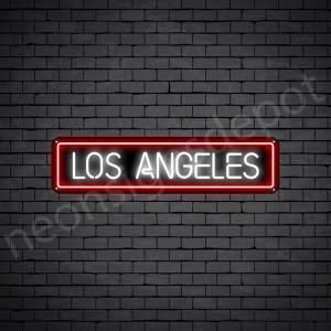 Los Angeles Neon Sign - Black
