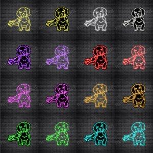 Beagles Dog V3 Neon Sign